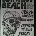 Napalm Beach - Crash Landing - Satyricon