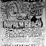 Napalm Beach, Boy Wonders, Dharma Bums at Satyricon 1987